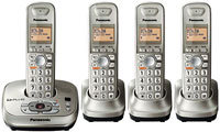 Champagne Expandable Digital Cordless Phone With A