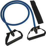 Blue Heavy Xertube Resistance Band With Door Attac
