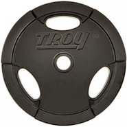 Troy Barbell 25lb Urethane Encased Olympic Grip Pl