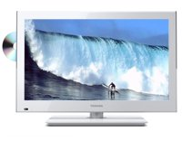 White 24   1080p 60Hz TV/DVD Combo - 24V4260U