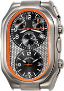 Prestige Orange Titanium Chronograph Case - 13TI-5