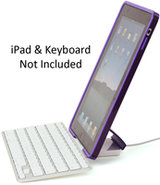 Candyshell Nightshade Purple Hard Shell iPad Case 