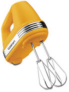 Power Advantage 5-Speed Light Yellow Hand Mixer -