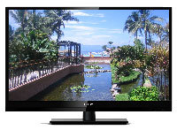 39   LED Black Flat Panel HDTV - LEDTV3916