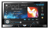Double-DIN Multimedia DVD Receiver With Motorized 