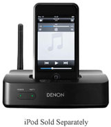 Black Wireless Control Dock For iPod - ASD-51W