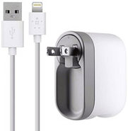 Swivel Charger + Lightning ChargeSync Cable - F8J0
