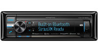 Single DIN In-Dash Car Stereo Receiver - KDC-BT855
