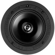 White Disappearing 6.5   In Ceiling Loudspeaker - 