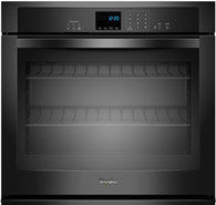 30   Black Single Electric Wall Oven - WOS51EC0AB