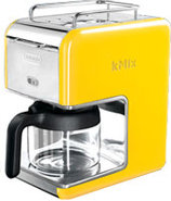 KMix Yellow 5-Cup Coffee Maker - DCM02.YE