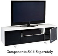 Marina Series White TV Stand - MARINA8729