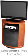 Revo Series TV Stand In Cherry - REVO9980CH