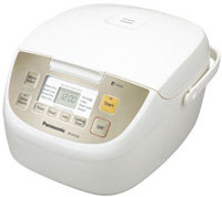 White Micro Computer Rice Cooker - SR-DE103