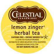 18 Count Celestial Seasonings Lemon Zinger Herbal