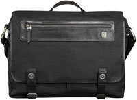 Forge Black Fairview Messenger Bag - 055171DC