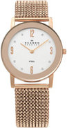 Rose Gold Stretch Mesh Ladies Watch - 39LRR1
