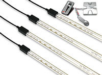 16.7 Million Color LED Undercar Lighting System -