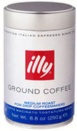 illy Ground Drip Coffee Medium Roast 8.8 oz Can - 