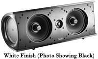 White ProCenter 1000 Center Channel Speaker - PROC