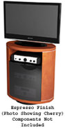 Revo Series TV Stand In Espresso - REVO9980ESP