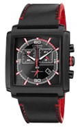 Eco-Drive MFD Black &amp; Red Mens Watch - AT2215-07E