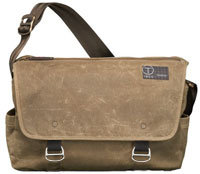 Icon By Tumi Usher Khaki Messenger Bag - 57571 KHA