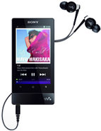 32GB Black F Series Walkman Video MP3 Player - NWZ
