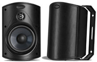 Atrium 4 All Weather Outdoor Black Loudspeaker - A
