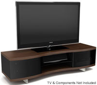 Ola Series Chocolate Walnut TV Stand - OLA 8137