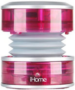 CrystalTunes Portable Multimedia Pink Speaker - IH