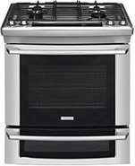 30   Stainless Steel Dual-Fuel Slide-In Gas Range 