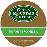 18 Count Green Mountain Coffee French Vanilla Coff