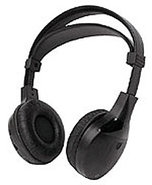 2 Channel Infrared Fold-Flat Headphones - 90-3070