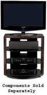Valera Series 9721 Espresso TV Stand - VALERA9721E