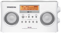 FM Stereo RDS / AM Digital Tuning White Portable R