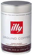 illy Ground Drip Coffee Dark Roast 8.8 oz Can - 07