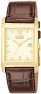 Eco-Drive Gold-Tone Dial Mens Watch - BW0072-07P