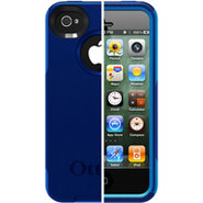 iPhone 4/4S Commuter Series Night & Ocean Blue Cas