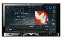 Double-DIN Multimedia DVD Receiver With Bluetooth 