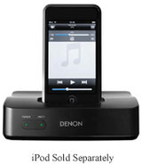 Black Wired Control Dock For iPod - ASD-51N