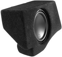 Gray Stealthbox Subwoofer for 2007-Up Ford Expedit