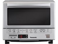 FlashXpress Silver Toaster Oven With Double Infrar