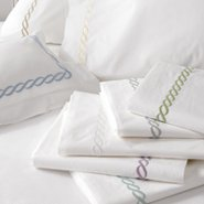 Classic Chain Standard Almond Pillow Case - S100CC