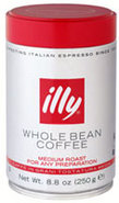 illy Whole Bean Medium Roast Coffee 8.8 Oz Can - 0