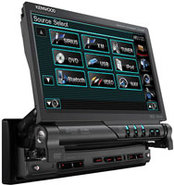 In-Dash Mobile DVD Entertainment System - KVT-516