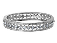 Swarovski Crystal Bangle with Platinum