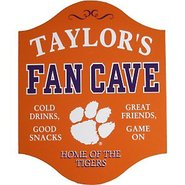 Clemson Tigers Fan Cave Sign