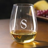 Personalized Wine Enthusiast U Chardonnay Stemless