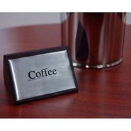 Coffee Tabletop Wood Block Sign